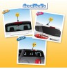 Coolballs (Fat Style Antenna) California Sunshine w/ Sunglasses Antenna Topper / Desktop Bobble Buddy (Pink)