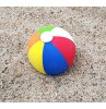 HappyBalls (Fat Style Antenna) Beach Ball Car Antenna Topper / Desktop Bobble Buddy