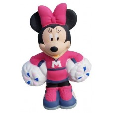 *Last One* Disney Minnie Mouse Cheerleader Pom Poms Antenna Topper / Desktop Bobble Buddy