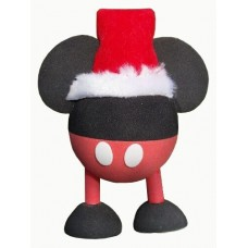 Mickey Mouse Santa Red Pants With Legs Antenna Topper / Disney Antenna Ball
