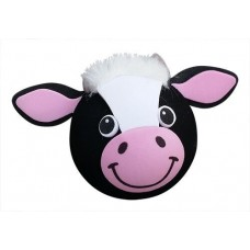 Tenna Tops - For Thick Fat Style Antenna - Bessie the Cow Antenna Topper