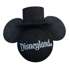 Mickey Mouse Black Top Hat Antenna Topper / Antenna Ball