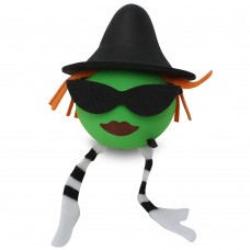 Coolballs Wicked Witch Antenna Topper / Desktop Bobble Buddy