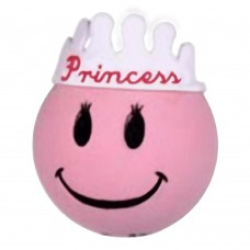 HappyBalls Pink Princess Car Antenna Topper / Mirror Dangler / Desktop Bobble Buddy