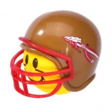Florida State Seminoles Helmet Head Antenna Ball / Desktop Bobble Buddy Spring Stand (Yellow)