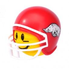 Arkansas Razorbacks Football Helmet Head Antenna Ball / Desktop Bobble Buddy (College) (Yellow)