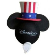 Disney Mickey Mouse Patriotic Hat 4th Of July Antenna Topper (Beard) - Disneyland Resort