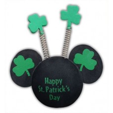Disney Mickey Mouse Happy St. Patrick's Day Antenna Topper With Shamrock Springs (Walt Disney World)