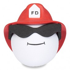 Cool Fireman Firefighter Antenna Ball (Red) Antenna Topper