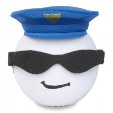 Coolballs (Fat Style Antenna) Cool Cop Police w Sunglasses Antenna Topper / Desktop Bobble Buddy