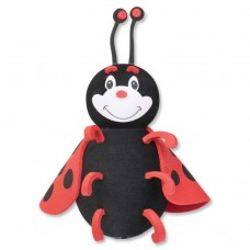 Tenna Tops Ladybug Car Antenna Topper / Desktop Spring Stand (New Style)