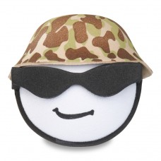 Coolballs - For Thick Fat Style Antenna - U.S. Marine Soldier w Sunglasses Antenna Topper