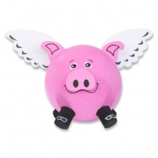 Tenna Tops - For Thick Fat Style Antenna - Flying Pig Antenna Topper & Mirror Dangler