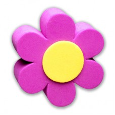 For Thick Fat Style Antenna - Purple Daisy Car Antenna Topper