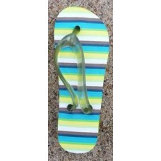 Tenna Tops Flip Flop Sandal Antenna Topper & Mirror Dangler (Green)