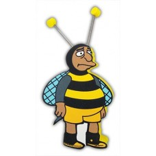 Simpsons Bumblebee Guy Antenna Topper / Desktop Bobble Buddy