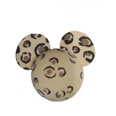 Mickey Mouse Leopard Print Car Antenna Topper