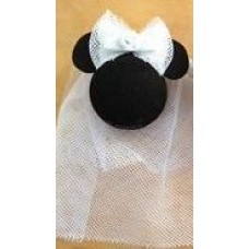 Disney Minnie Mouse Bride Car Antenna Topper