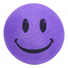 Happy Purple Smiley Face Antenna Ball