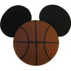 *Last One* Rare Mickey Mouse Basketball w Ears antenna Topper