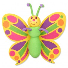 Tenna Tops Pretty Butterfly Antenna Topper & Mirror Dangler
