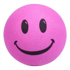 HappyBalls (Fat Style Antenna) Pink Smiley Happy Face Antenna Ball / Desktop Bobble Buddy
