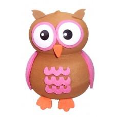 Tenna Tops Pink Owl Antenna Topper / Mirror Dangler