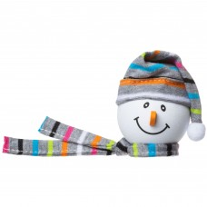 Tenna Tops Snowman Antenna Topper (Grey)
