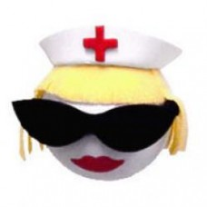 Coolballs Blonde Nurse Antenna Topper