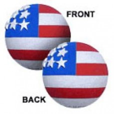 Coolballs® Cool American Flag Antenna Topper (2 Sided)