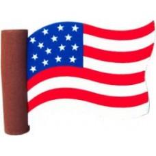 Coolballs USA American Waving Flag Antenna Topper / Desktop Bobble Buddy