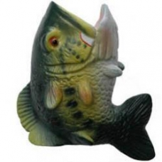 Bass Fish Antenna Topper