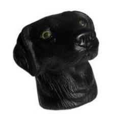 Black Lab Labrador Antenna Topper