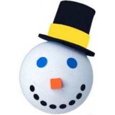 2005 Jack in the Box Snowman Antenna Topper
