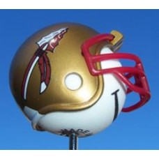 Florida State Seminoles Helmet Head Antenna Ball / Desktop Bobble Buddy Spring Stand