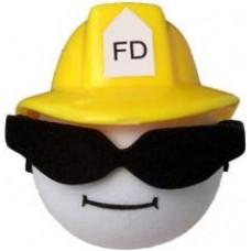 Cool Fireman Antenna Ball (Yellow) Topper Antenna Topper