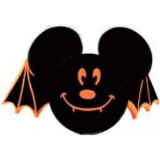 Mickey Mouse Halloween Bat Antenna Topper (Disneyland Resort) / Desktop Spring Stand