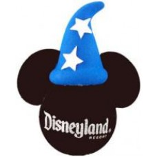 *Last One* Mickey Mouse Fantasia Sorcerer Antenna Topper (White Stars) (Disneyland Resort)