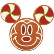 Disney Mickey Mouse Gingerbread Face Car Antenna Topper