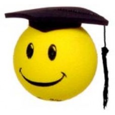 Happy Graduate Antenna Ball - Graduation