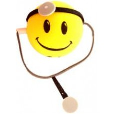 *Sale* HappyBalls Doctor Car Antenna Topper / Desktop Bobble Buddy