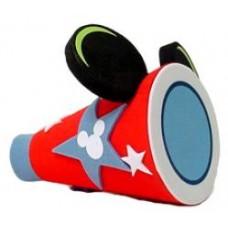 Mickey Mouse Cheer Megaphone Cheerleading Cheerleader Antenna Topper