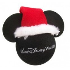 Mickey Mouse Santa Hat Disney Antenna Topper (Walt Disney World)