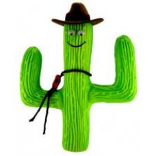 HappyBalls Cactus w/ Cowboy Hat Antenna Topper / Desktop Bobble Buddy