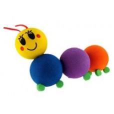 *Very Rare* Happyballs Happy Caterpillar Antenna Ball