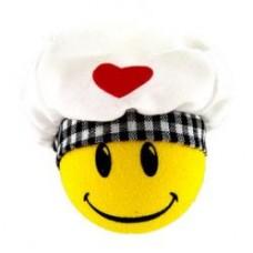 *Sale* HappyBalls Chef Cook Car Antenna Topper / Desktop Bobble Buddy