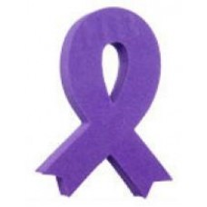 *Sale* Purple Awareness Ribbon Antenna Topper