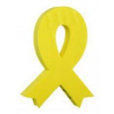 *Sale* Yellow Awareness Ribbon Antenna Topper