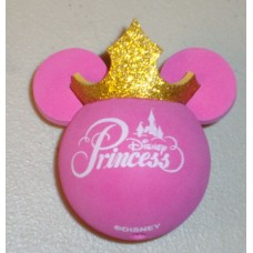 Disney Princess Gold Glitter Crown Antenna Topper
