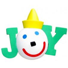 2014 Jack Holiday JOY Antenna Topper / Desktop Bobble Buddy (Green) (Jack in the Box)
